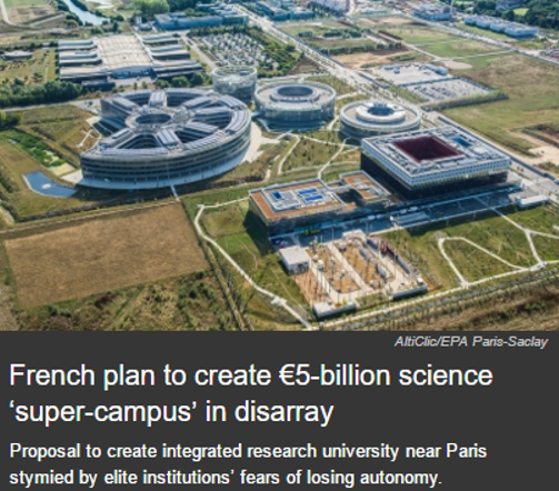 French plan to create super-campus in disarray